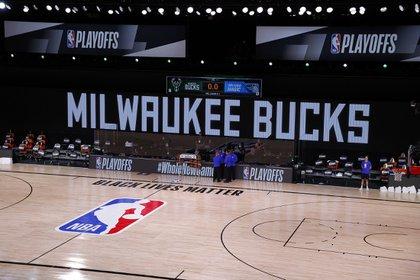 Milwaukee Bucks y Orlando Magic fue pospuesto por la NBA tras el boicot (Reuters)