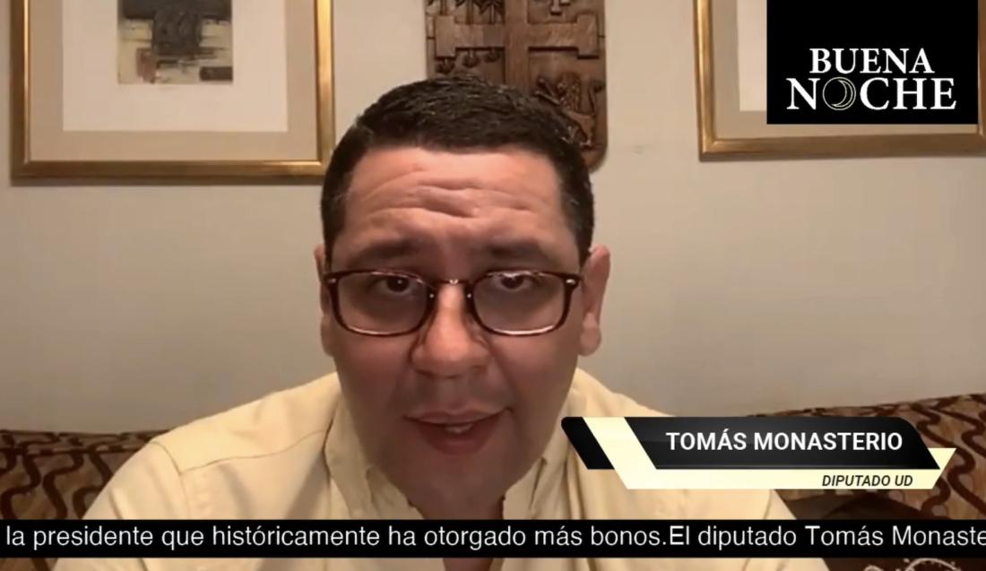 El diputado y candidato a senador por Juntos, Tomás Monasterio.