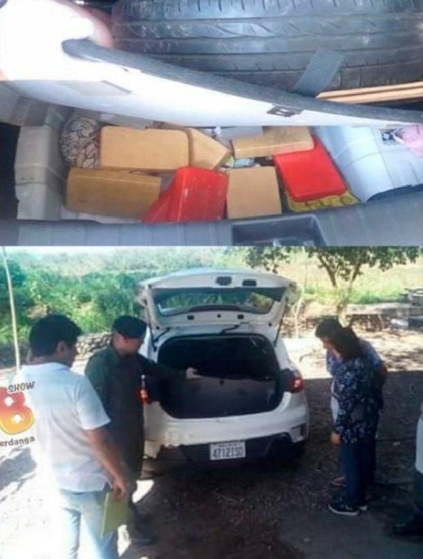 MOMENTO CUANDO EL EXCÓNSUL DE BOLIVIA EN ORÁN FUE DETENIDO CON 100 KILOS DE COCAÍNA.