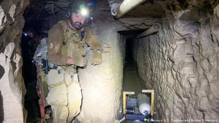 USA | Mexiko | Schmuggler-Tunnel zwischen San Diego und Tijuana (Reuters/ U.S. Customs and Border Protection)