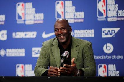 Michael Jordan, dueño de Charlotte Hornets (Reuters)