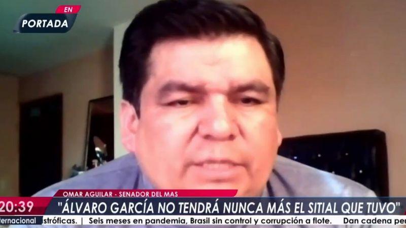 Aguilar: «La figura de Evo se desgastó pero sigue siendo el líder del MAS»