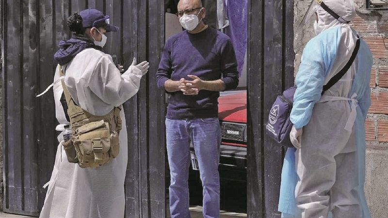 Megarrastrillaje se propone visitar 60 mil hogares paceños
