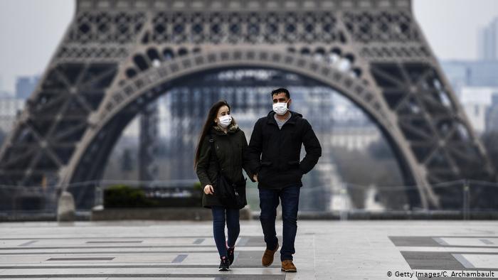 Frankreich I Paris I Eiffelturm I Coronavirus (Getty Images/C. Archambault)