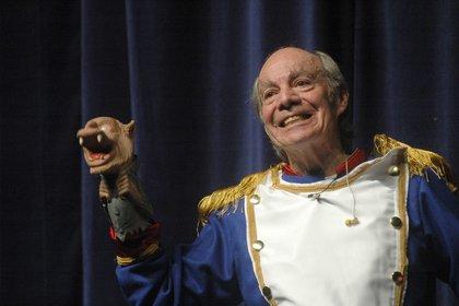 """""""El loco"""" Valdés durante la obra teatral """"Ensalada de Rucos"""". (Foto: Cuartoscuro)"""