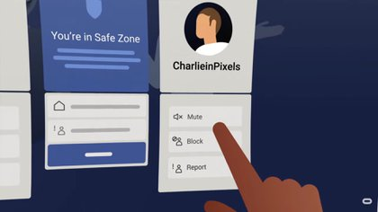 Facebook Horizon incluye herramientas de seguridad