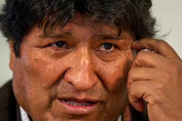 Evo Morales Foto: El Periódico