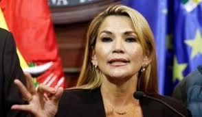 """Jeanine Añez, presidenta de facto de Bolivia: """"La gente nos clamaba que saquemos al Ejército a la calle"""" - NODAL"""