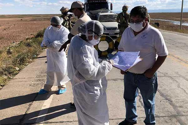 Brigadas de salud Foto: Sedes Oruro