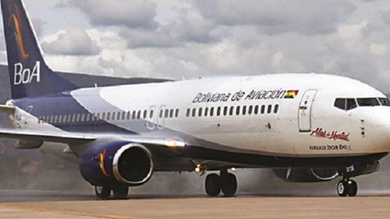 Bolivia retoma los vuelos regulares con Estados Unidos y con España