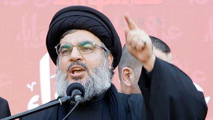 El jefe de Hezbollah, Hassan Nasrallah