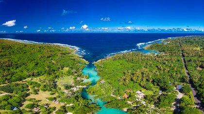 Un paisaje de la costa Vanuatu (Shutterstock)