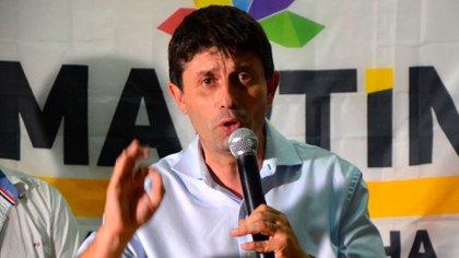 El ex futbolista y candidato a la intendencia de Rocha, Martín Rodríguez