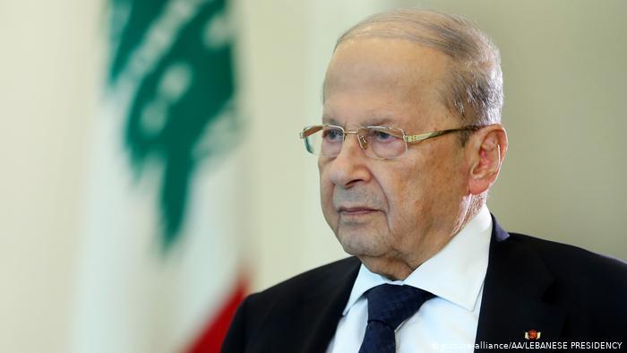 Libanon Präsident Michel Aoun (picture-alliance/AA/LEBANESE PRESIDENCY)