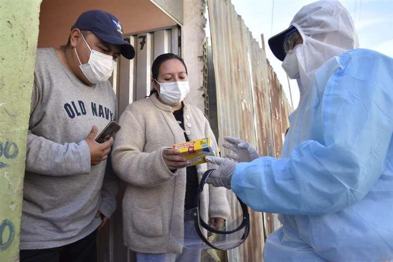 El rastrillaje en La Paz I APG Noticias.