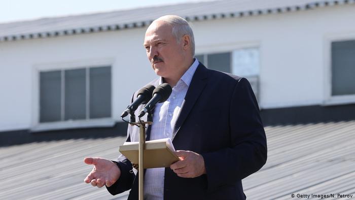 El presidente Alexandre Lukashenko.