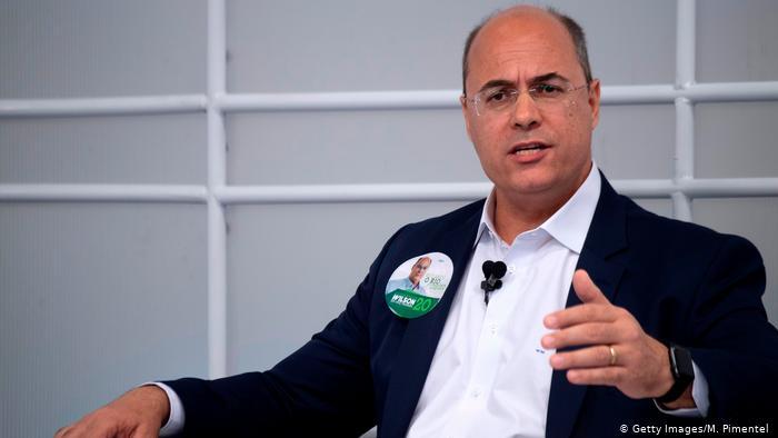 Brasilien, Kandidat des Gouverneurs von Rio de Janeiro für die Christian Social Party (PSC), Wilson Witzel (Getty Images/M. Pimentel )