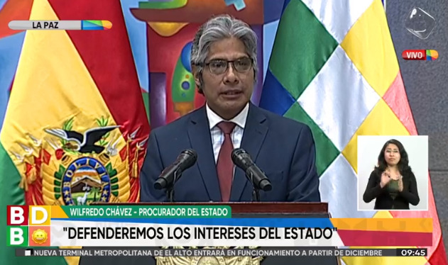 Asume Wilfredo Chávez como Procurador General del Estado, la nueva  autoridad es abogado de Evo – eju.tv