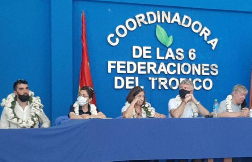 La comisión de la CIDH llega a Lauca Ñ y recibe testimonios sobre las muertes de Huayllani