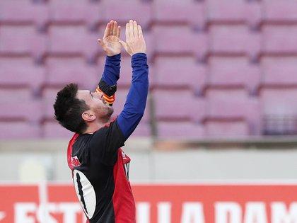 Messi sorprendió al mundo con su particular homenaje
