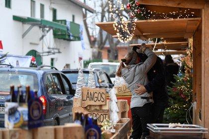 Un mercado navideño en Gauting cerca de Munich (REUTERS/Andreas Gebert)