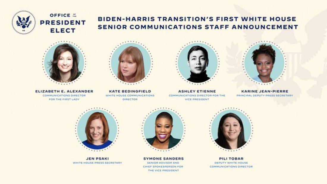 Equipo de comunicaciones de Joe Biden