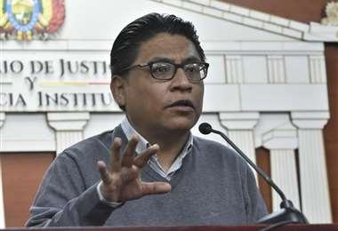 Ministro propone que el referendo constitucional para reformar la justicia se realice el 7 de marzo   EL DEBER