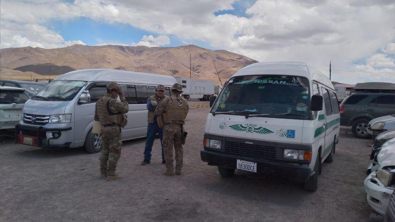 La Fiscalía abre investigación por quema de domo de militares en Huachacalla