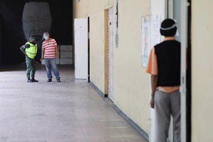 Un centro de votación en Caracas, prácticamente vacío (REUTERS/Manaure Quintero)