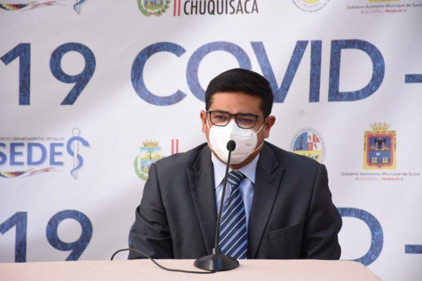 Enrique Leaño, elegido candidato del MAS para la Alcaldía de Sucre