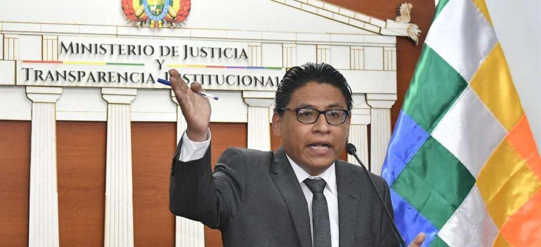 El ministro de Justicia I APG Noticias.
