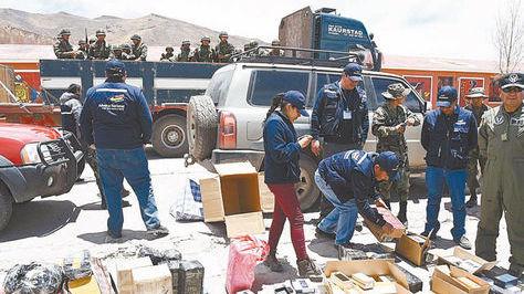 Aduana revela que clanes de contrabandistas pelean por territorios en  Bolivia – eju.tv