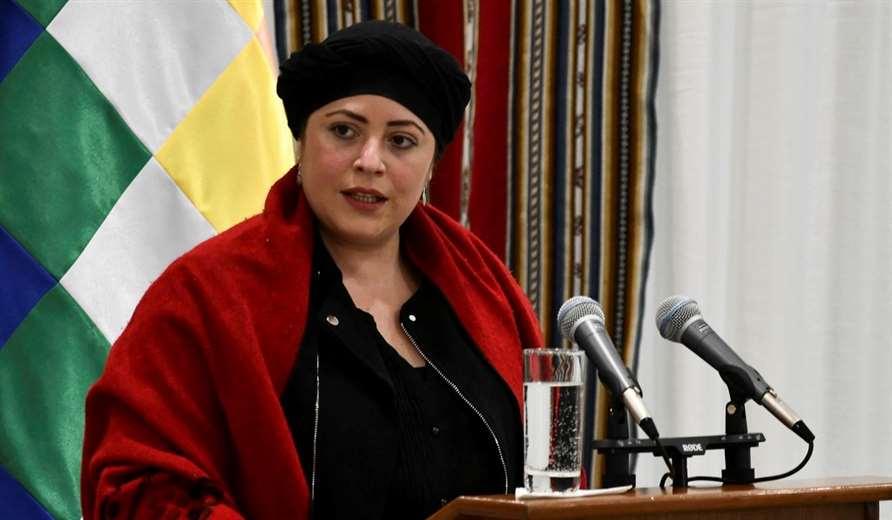 La ministra de la Presidencia I APG Noticias.
