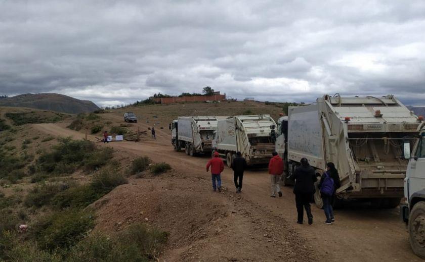 EMAS suspende recojo de basura por bloqueo al botadero de Lechuguillas
