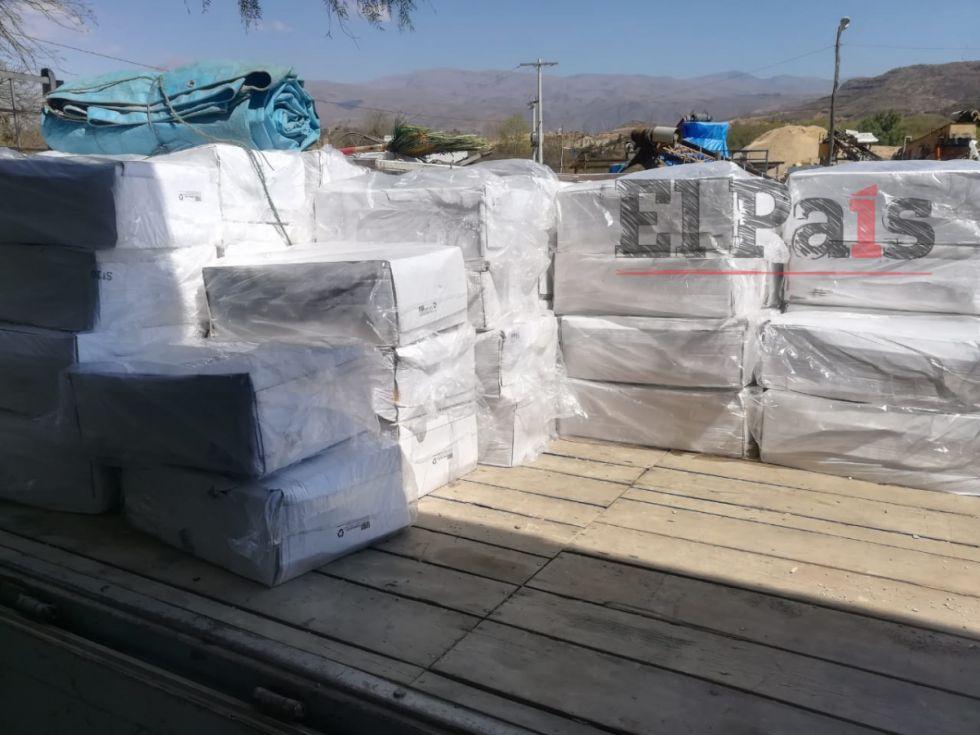 Senasag comisó media tonelada de pescado en Tarija
