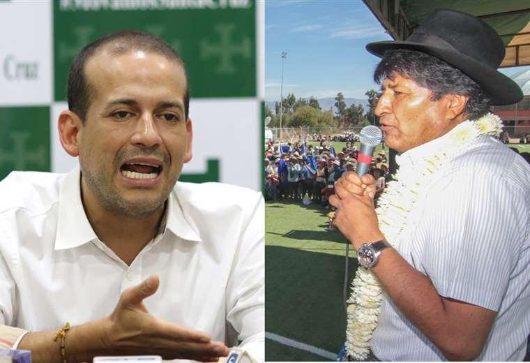 Ambos líderes políticos cruzaron acusaciones en Twitter.