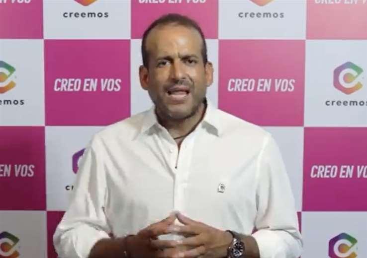 Luis Fernando Camacho fue candidato a presidente en 2020