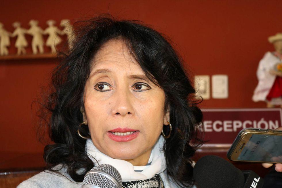 """Mirtha Arce anuncia su candidatura a la Gobernación de Tarija """"con ideas y rostros nuevos"""""""