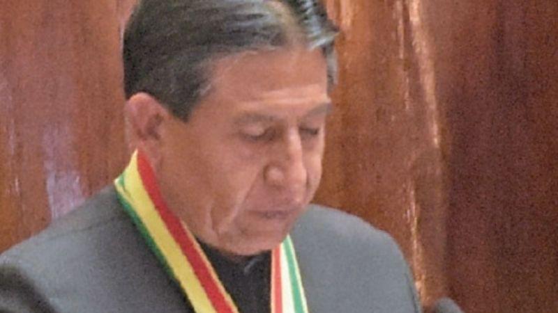 15 frases de Choquehuanca en el día contra la corrupción