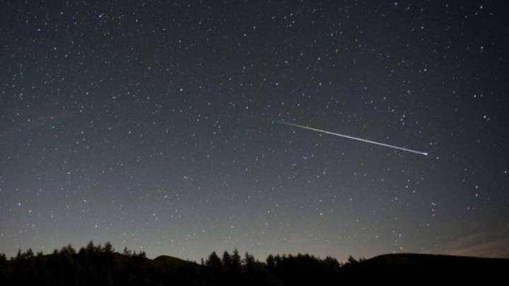Una intensa lluvia de estrellas se verá los próximo días