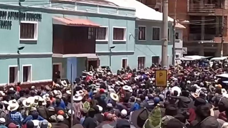 Otra vez, la violencia se desata en Betanzos en elección de candidatos del MAS
