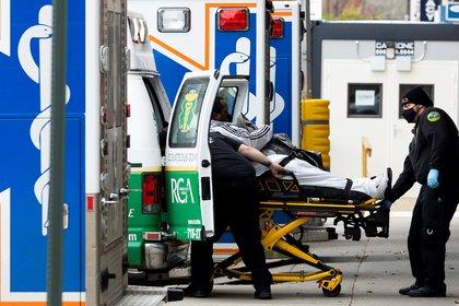 Nueva York, que fue inicialmente el gran epicentro de la pandemia en Estados Unidos, hab�a logrado mantener durante meses unos n�meros de contagios muy bajos en comparaci�n con el resto del pa�s. EFE/EPA/Justin Lane/Archivo