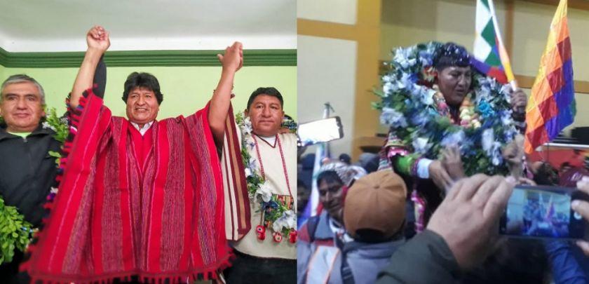 Potosí: Evo proclama a un candidato, pero campesinos afines al MAS eligen a otro
