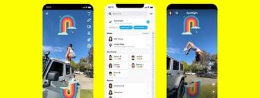Snapchat crea la sección
