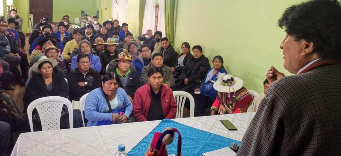 Evo tuvo que permanecer oculto ante los destrozos y el rechazo a la elección de candidatos en Potosí | EL DEBER