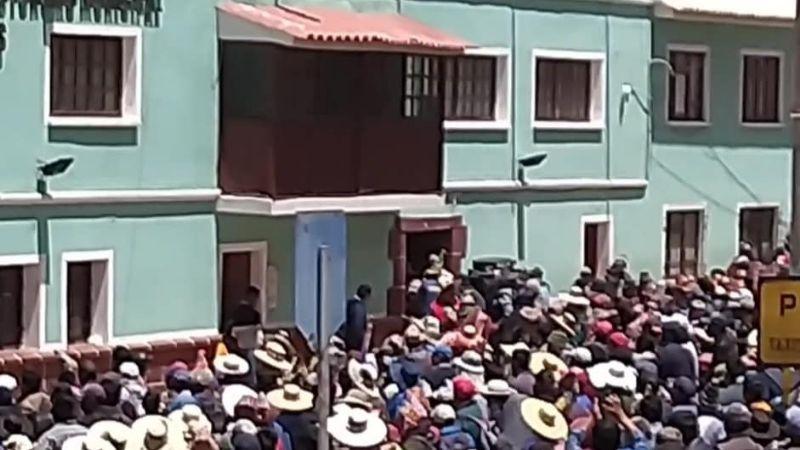 Norte potosinos desconocen a Mamani y exigen que Chambi vaya por el MAS a la Gobernación
