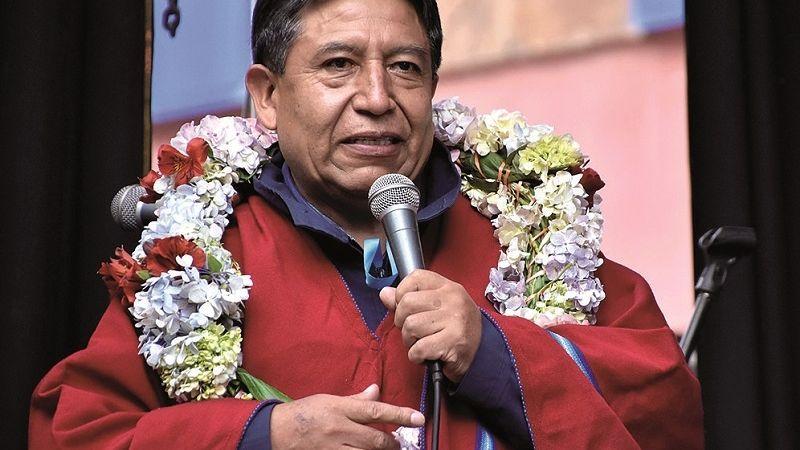 Desde que asumió la Vicepresidencia, Choquehuanca nunca habló de golpe