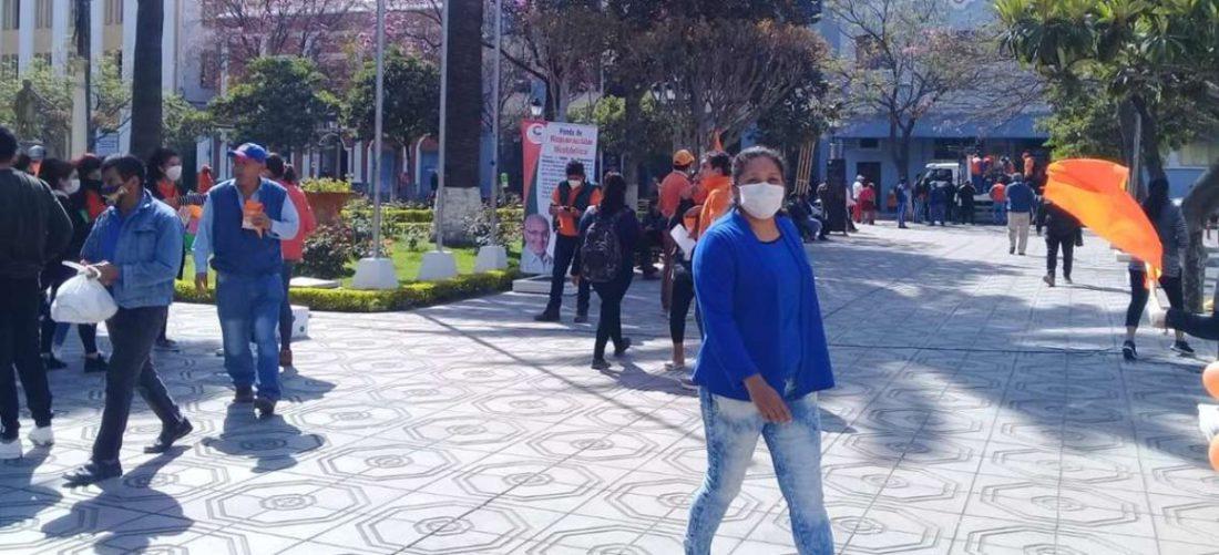 COED de Tarija pide a la población cumplir con medidas de bioseguridad