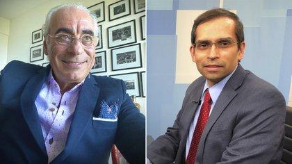 Los prestigiosos investigadores y cardiólogos: Rafael Díaz de ECLA (izquierda) y el científico de la Universidad de Harvard Deepak Bhatt (derecha)
