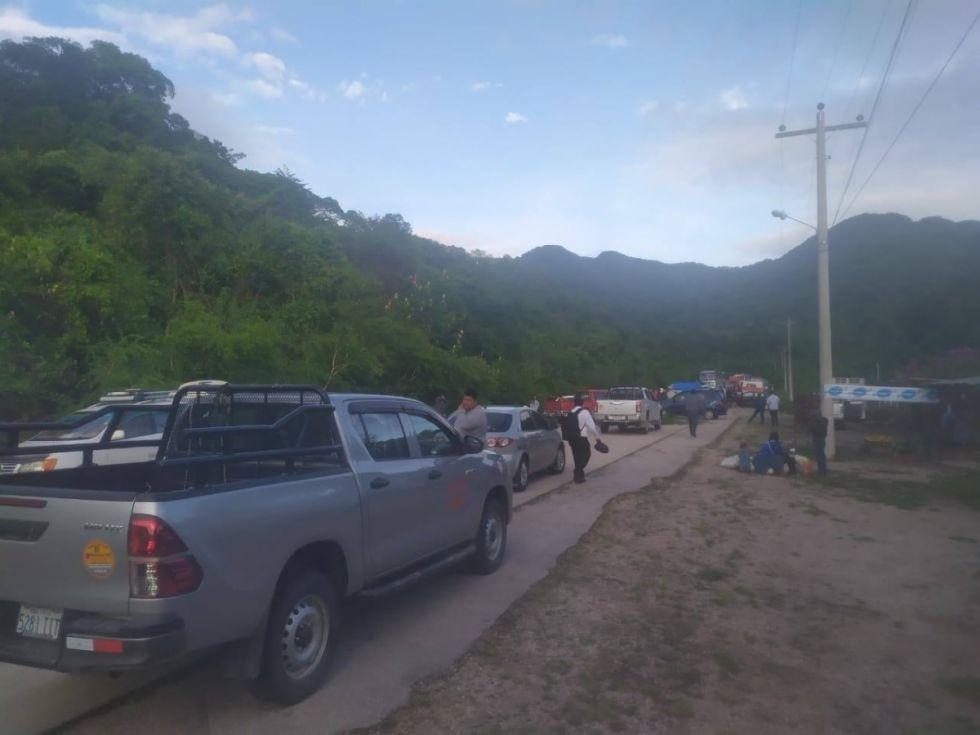 Artistas bloquen carretera Tarija-Yacuiba